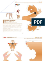 Chihuahua de papel