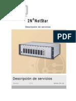 Funciones de NetStar/ Central de E1