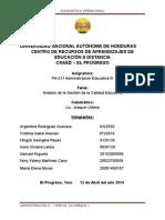 Analisis de La Gestion de La Calidad Educativa..NUEVO