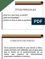 4.- CONCEPTOS PERICIALES