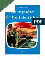 Caroline Quine Les Sœurs Parker 19 ODEJ Le mystère de l'œil de rubis 1957.doc