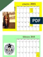 Taller 3 Calendario Mensual