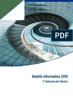 Boletín Informativo - Febrero 2015