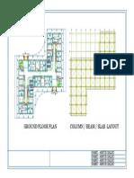 First Floor Plan New Block1-Model
