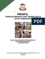 Profil Taman Perpustakaan Dan Taman Baca 2012