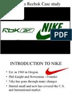 Nike vs Reebok 2015
