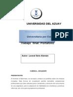 Portafolio Del Diplomado en Educación Superior