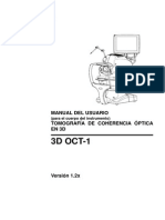 3D OCT-1 Maestro Ver. 1.2 User Manual - Spanish