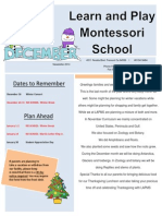 Learn And Play Montessori School - December 2014 - Peralta_Fremont