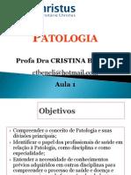 Aula 1 Patologia Lesão Celular