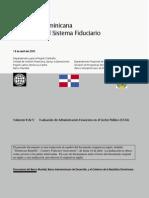 Evaluación Del Sistema Fiduciario de La República Dominicana