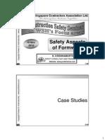 Prof Krishna - Hazards and Controls for Formwork