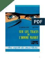 Caroline Quine Les Sœurs Parker 06 BV Sur les traces de l'homme masqué 1937.doc
