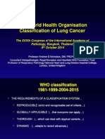 WHO Classification of Lung Cancer 2014