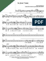 In Jesus Name Sheet Music