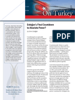 Erdogan's Final Countdown to Absolute Power?