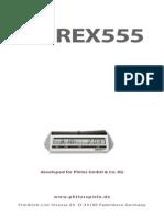 Merex 555 - User Manual