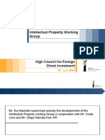 Intellectual Property Working Group - High Council for Foreign Direct Investment
