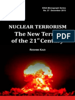 NUCLEAR TERRORISM THE NEW TERROR OF THE 21ST CENTURY