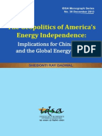 The Geopolitics of America's Energy Independence