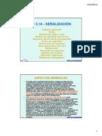 Ud 2.14 - Señalización