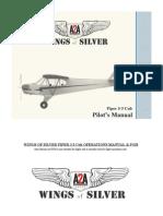 A2A Piper J3 Manual