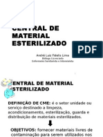 Aula de Central de Material de Esterilização - CME