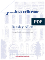 The Jere Beasley Report, Nov. 2011