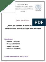 Classifications Des Décharges Et Recyclage
