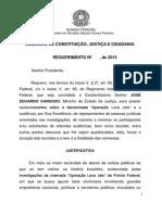 Requerimento de convocação do ministro José Eduardo Cardozo