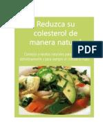 Reduzca Su Colesterol de Manera Natural
