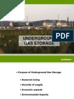 7. Underground Gas Storage