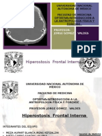 Antropología :Hiperostosis frontal interna