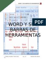 Word y Sus Barras de Herramientas 5