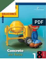 18.0 Concreto Sin Finos.