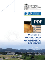 Manual de movilidad académica saliente