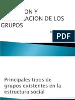 Definicion y Clasificacion de Los Grupos