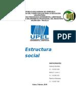 Trabajo Estructura Social Sociologia
