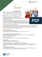 YL FAQs