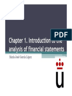 Chapter 1. Introduction to the Analysis of Financial Statements. Slides
