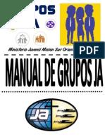Manual Grupos Ja 2014 Mision Sur Oriental Agrupado