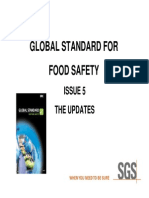 Ssc Update to Brc Global Standard Food Safety