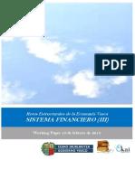 Retos Estructurales de la Economia Vasca. SISTEMA FINANCIERO (III)