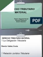 Derecho Tributario Material Tema 5 y Domicilio