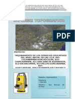 Informe Topografico Iei Palcayacu Final
