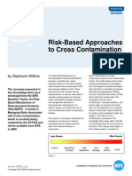 Risk Based Approaches to Cross Contamination