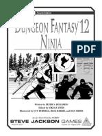 Dungeon Fantasy 12 - Ninja