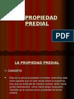 La Propiedad Predial