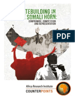 Statebuilding in the Somali Horn - compromise, competition and representation
