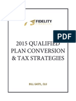 2015 Qualified Plan Conversion & Tax Strategies